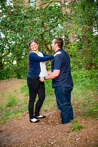 Angie & Tony Pre-Wedding Shoot Rowhill nature reserve Aldershot