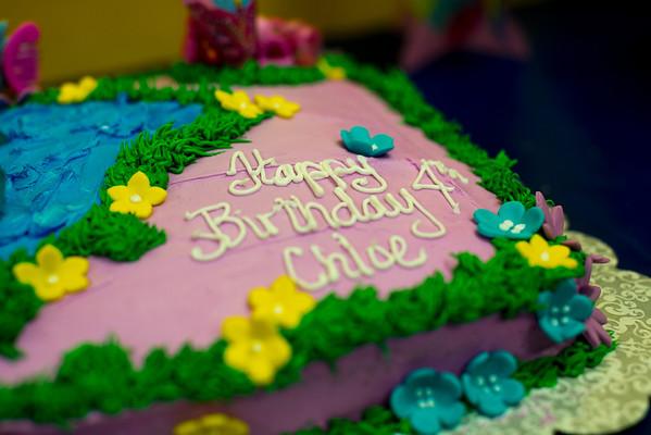 Chloe's 4th Birthday