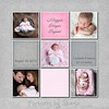 Bryant  pink and gray 8x8 10x10 12x12