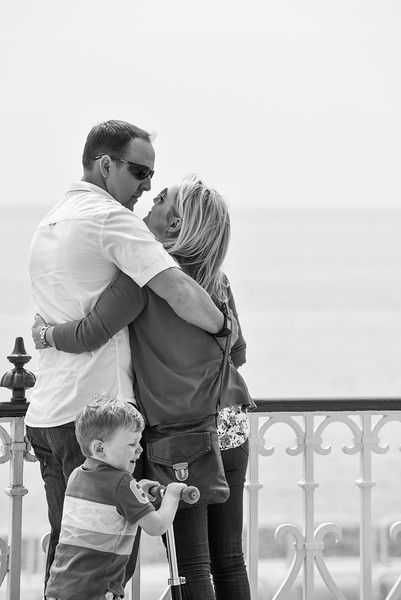 Caryn & Jamie Engagement shoot in Hove with Ethan their son. 7th May 2016