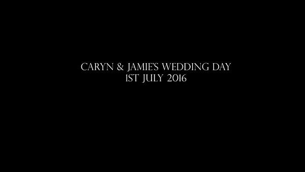 caryn jamies wedding tv slideshow