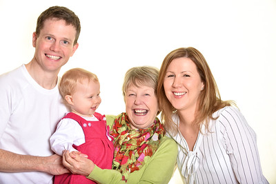 Kasia,Nick and Charlotte Family Portraits Horsham 8th October 2015
