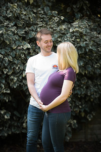 Charlotte Maxted 38 weeks pregnant with fiance Matt