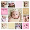 Decker Newborn board 10x10 info Olivia