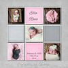 Dixon pink and gray 8x8 10x10 12x12