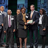 "The Max Heller Neighborhood Improvement Award is given annually to an organization that has shown exemplary efforts toward neighborhood improvement and empowerment. The award is named in honor of former Greenville mayor Max Heller, who spearheaded numerous efforts over the years to improve the quality of life for all citizens of Greenville County. The 2011 award, sponsored by Smith Moore Leatherwood, was presented to the Nicholtown Neighborhood Association. <br />  <br /> Under the leadership of Yvonne Reeder, the Nicholtown Community has achieved many accomplishments with the cooperation of its residents, and collaborations with churches and area businesses. <br /> <br /> The association adopted a theme ""Together We Grow"" - the centerpiece of that notion is the community garden that grows as the results of many hands. They've had over 88 residents come out to till the garden, resuliting in the growth of 57 varieties of vegetables, and providing food for 200 families. <br /> <br /> At the Nicholtown Recreation Center, community members can use a computer room to take classes on healthy living or controlling diabetes or take part in an exercise class. The center also has a bike share program and plans to host a bike club beginning later this year. As part of ongoing rehabilitation of the area, a walkway of personalized bricks is underway and a sculpture, designed by local students in collaboration with the architecture department at Clemson University, has been installed at a small park that will start hosting concerts this summer."