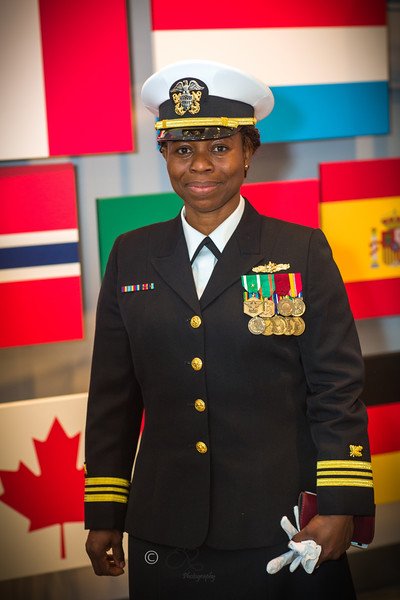 LCDR Stella Obayuwana's Retirement Ceremony