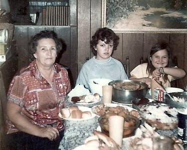 Mary Harbick, Kathy Hardy, and Mary Hardy