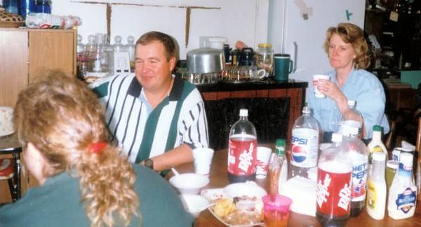 Nancy, David and Loretta Hardy