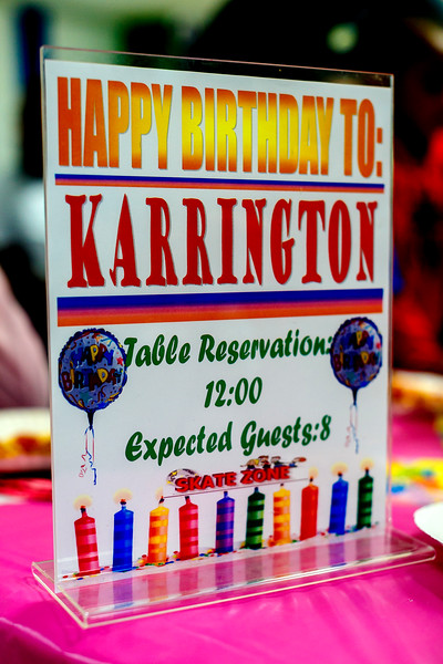 Karrington 9th Birthday