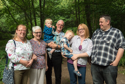 Family photographs for Kerry. Owlbeech Woods Horsham.