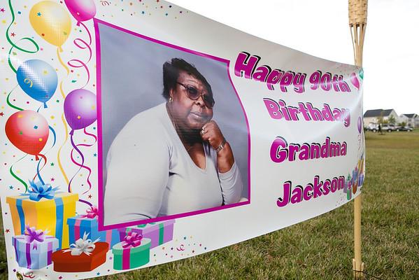 Ms Jackson's 90th Birthday