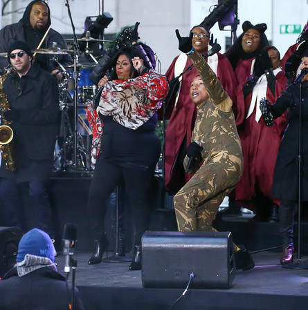 Pharrell Performs On NBC's 'Today'