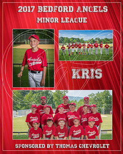 2017 Bedford Angels TM Kris