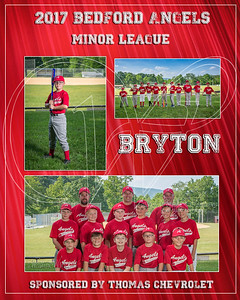 2017 Bedford Angels TM Bryton