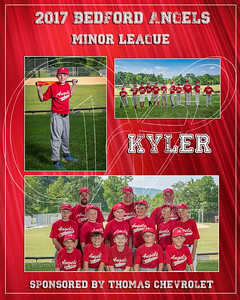 2017 Bedford Angels TM Kyler G