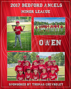 2017 Bedford Angels TM Owen