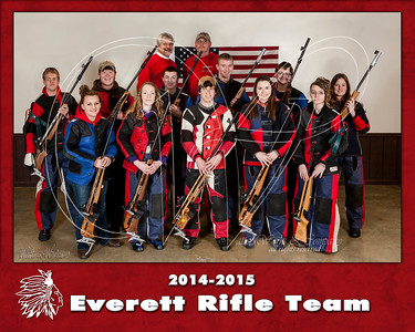 2015 Everett Rifle Team