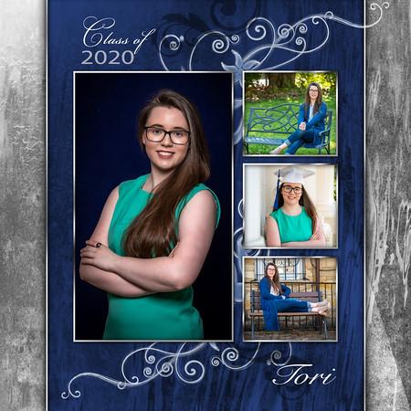 12x12 Collage Tori