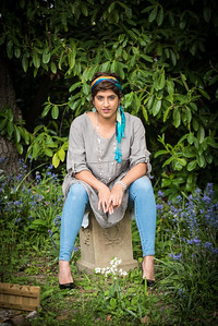 Fashion Shoot for Essence of Fashion based in Horsham with Farah modelling.