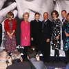 Anderson Cooper, Anna Wintour, Hillary Clinton, guest, Michael Bloomberg, etc