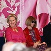 Hillary Clinton, Anna Wintour and Michael Bloomberg