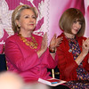Hillary Clinton and Anna Wintour