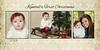 Thomasson damask first Christmas 5x10
