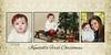 Thomasson damask first Christmas 5x10 #2