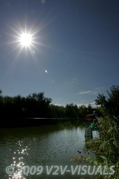 The sun shone over Lands End Farm.  Brian Gay 2005