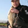 A January feeder caught  bream from Apex Lake at Highbridge. © Brian Gay