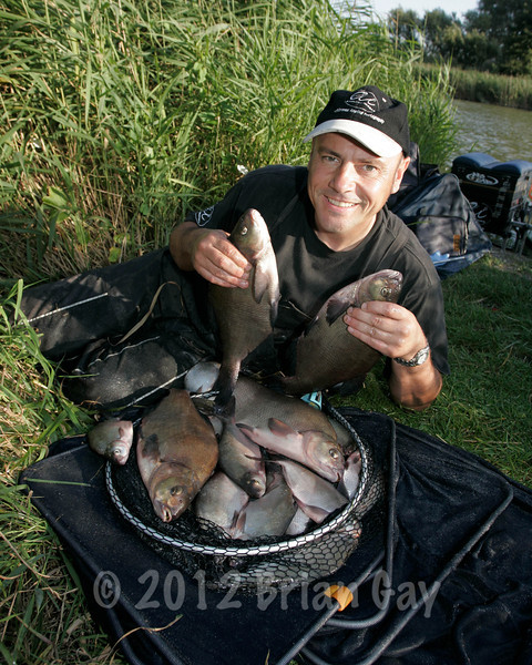 A summer bag of bream from Apex Lake at Highbridge, Somerset. © Helen Tolley 2006