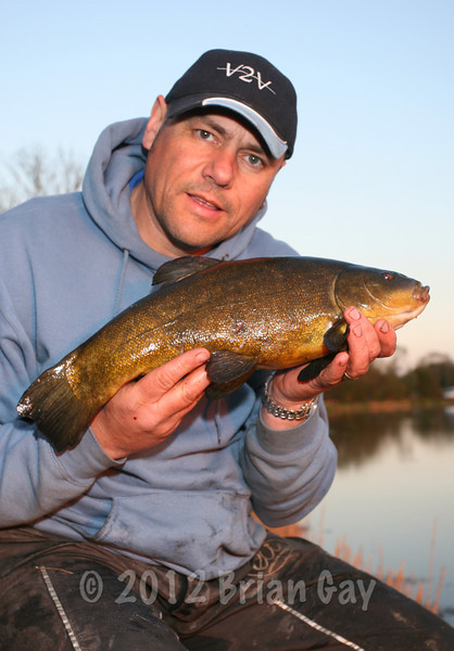 A nice tench from the Bridgwater & Taunton Canal at Huntworth. © Brian