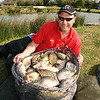 101 pasties for 101 lb from Walter's Lake at Ridgeway Fisheries, Gloucestershire. © Brian Gay