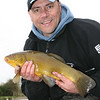 A nice tench from the Bridgwater & Taunton Canal at Huntworth. © Brian Gay