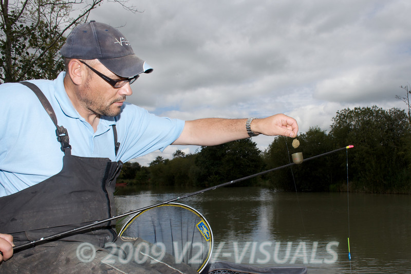 Paste was the most effective method for me. A ball of paste in a Fox Toss Pot was shipped out to 13 metres each cast.© 2009 Brian Gay. Licensed to Angler's Mail IPC media for editorial use in Angler's Mail.