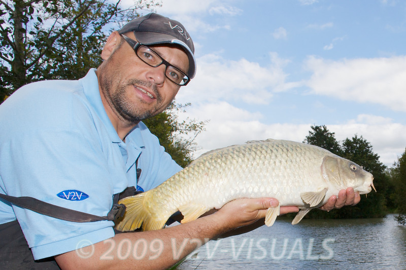 This ghostie is typical of is the average stamp of carp that I caught on the pole and paste! © 2009 Brian Gay. Licensed to Angler's Mail IPC media for editorial use in Angler's Mail.