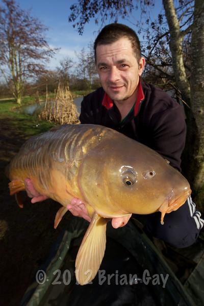Jason Carr with a nice mirror