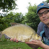 Brian Gay with a 5-1-0 bream from Burton Spring's Carp Lake, Burton, Somerset. © 2010 Brian Gay