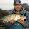 Brian Gay, 6 lb 2 oz chub, Dorset Stour, Longham, stick and maggot. © 2010 Brian Gay