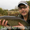 Chub 5-13-0. Longham, Dorset Stour shoot, 161009. © 2009 Brian Gay.