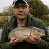 Chub 5-10-0, Longham, Dorset Stour shoot, 161009. © 2009 Brian Gay.