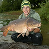 "Shawn Kittridge witha 27-10-0 Durleigh reservoir mirror carp. © 2014 Brian Gay  <a href=""http://www.v2v-visuals.co.uk"">http://www.v2v-visuals.co.uk</a>"