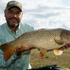 Brian Gay holds a pristine 16 lb 8 oz Durleigh common carp