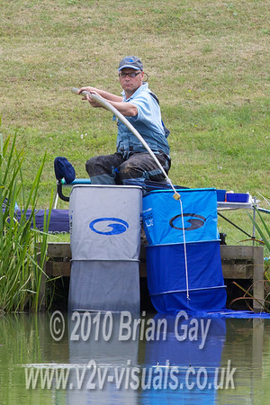 Fishery consultant Andrew Ellis was bang on when he said you would have to feed off the smaller fish before the bigger ones arrived.