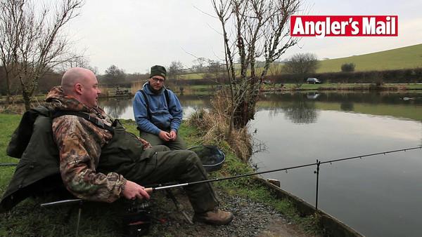 Video clip of Tony Latter talking to Angler's Mail SW correspondant Brian Gay.   © 2010 Brian Gay