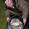 Eric Bunting with quality Milemead catch. © 2010 Brian Gay