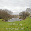 View across the Carp Lake at Milemead Lakes, Mill Hill, Tavistock, Devon. © 2010 Brian Gay