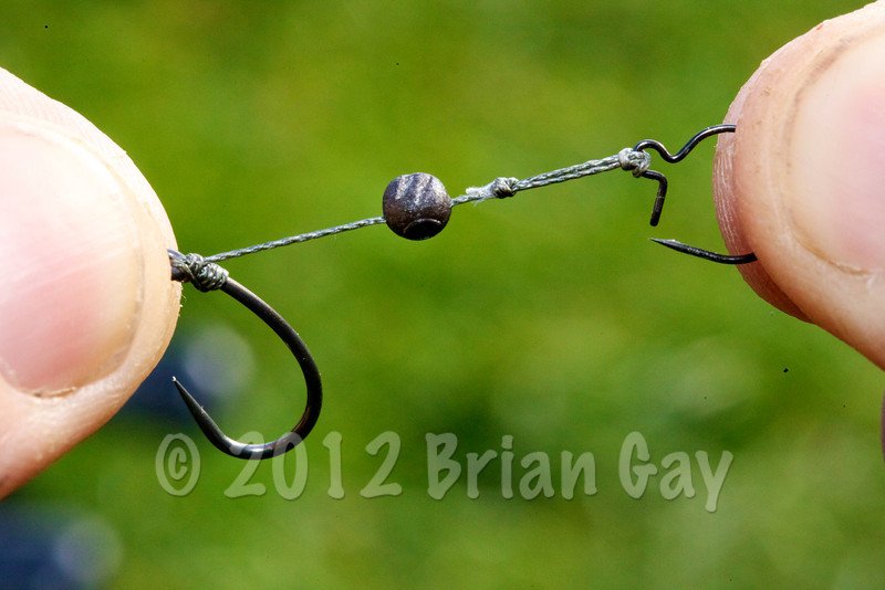 The maggot clip rig KD style was used later in the session © 2012 Brian Gay