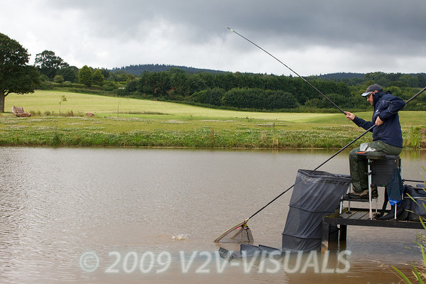 From a conservation point of view I think netting small carp is important it doesn't take long. © 2009 Brian Gay
